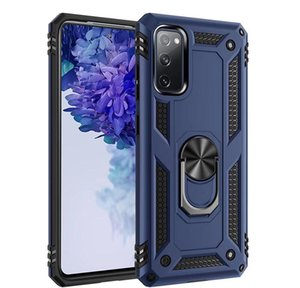 Armor For Samsung Galaxy S20 Fe Hard Case Car Holder S20 Fan Edition Magnetic Ring Galaxy Note 20 Ultra M31s M51 A21s jllLEA car_2010