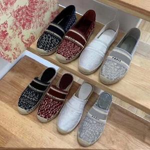 Clássicos Qualidade Mulheres Sapatos Espadrilles Sneakers Imprimindo Sneaker Sneaker Bordado Lona Low Top Platform Shoes Meninas Sho02 01