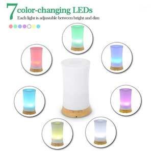 Colorful Creative home fragrance Aroma Humidifier Wood Grain reed diffuser sticks Machine Household1