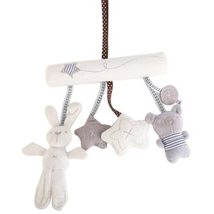 Newborn Baby Rattle Toys Animals Bed Bell And Stroller Hang Boutique Car Hanging
