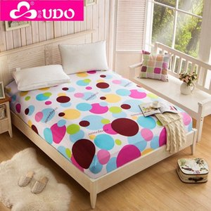 Wholesale-You Duo Home Textile Bedding Fitted Sheets Elastic Bed Cover Summer Mattress Cover Bedclothes Bedspread Bed Sheet KM002 6yLk#
