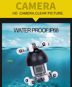 Night-vision 18 White Lights 360 Degree Revolving Camera Replacement for Endoscope Wide Viewing Angle Deep Waterproof Function