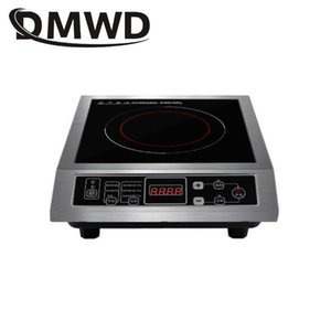 Induction Cookers DMWD Commercial 3500W Electromagnetic Cooker Waterproof Pot Heating Cooktop Soup Stir-fry Cooking Stove EU US Plug