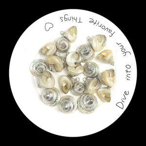 Loose Conch Hoop Dangle Earrings Gold Plated Ocean Seashell Drop Dangling Earrings Pendant Dropping Jewelry Diy Parts Crafts H jllPbD