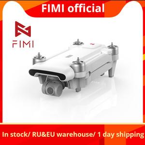En stock FIMI X8SE 2020 Versión Cámara Drone RC Helicopter 8km FPV 3-Axis Gimbal Cámara GPS RC Drone Quadcopter RTF LJ200827