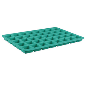 Wholesale 40 holes food grade silicone square shape ice cube mold chocolate moulds cookies cake mold