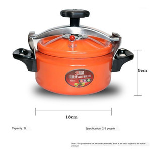 2L fit 1-2 people Magnetic induction cooker bottom Pressure cooker 18x18cm1