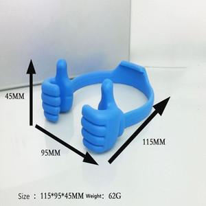 Bewegliche bewegliche Handy-Tablette Thumb-Halter-Unterstützung Stents für ZTE Blade-L130 L8 V10 Vita Libero S10 Z557 A4 A522 A530 jllZqO book2005