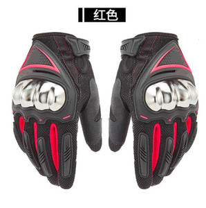 The new four seasons racing motorcycle touch screen off-road mountain bike equipment anti-drop gloves