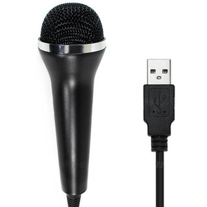 USB Wired Microphone for PS3 PS4 Switch for One  One Slim 360  360 Slim Wii PC Console