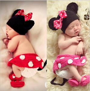 Newborn Photography реквизит 100% ручной работы вязаный ребенок Muts Newborn Photo Rush Baby Sets
