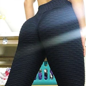 12 colors! Popular fashion hip jacquard yoga pants in Europe and America
