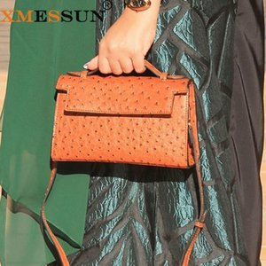 XMESSUN Monogrammed Letters Evening Party Hand Purse Fashion Clutch Women Large Brand New Hard Leather Shoulder Bag 201204