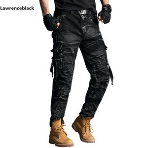 cargo pants mens Band Tactical Camouflage Military Pants Men Rip-stop SWAT Soldier Combat Trousers Militar Work Army Outfit 6661 201110