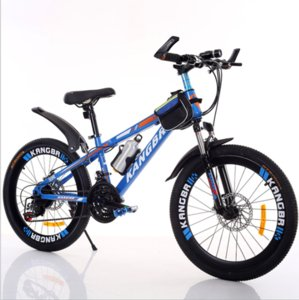 """Adult mountain bike 20 """"22"""" 24 """"26"""" 21 variable speed shock absorption baking paint with disc brake bike"""