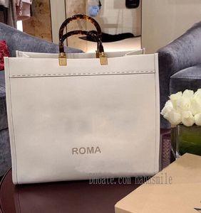 40 cm moda marrón bolsos de las mujeres F SAC bolsas de compras FF Bolsa Sunshine Libro de marrón grande Totes O5O9 #