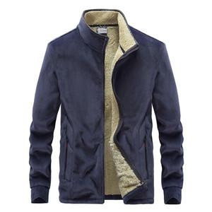 MANTLCONX Новый Негабаритные Parka Мужчины Пальто 2020 Зимняя куртка Мужчины сгущает Теплый флис пальто Мужской Повседневная куртка Windbreak Верхняя одежда