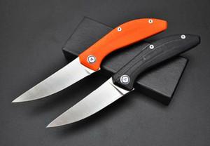 Yüksek kaliteli Shirogorov bıçak kamp sağkalım bıçak a1640 katlama D2 saten G10 kolu 58-60HRC bearhead