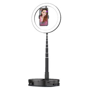 Telefone Celular Live Encher Light Retrátil Retrátil Portátil Anchor Beauty Face Selfie Bracket Live Anel Light
