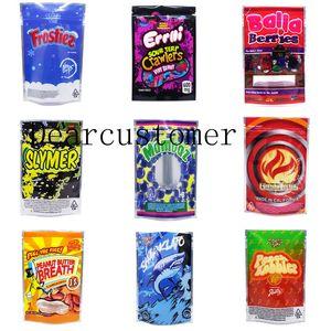 Jokes Up Runtz Bags 3.5g Mylar 포장 8th 쿠키 Mylar Runtz OG Resealable 냄새 증거 가방 19 종류 스탠드 업 포장 SG2021J