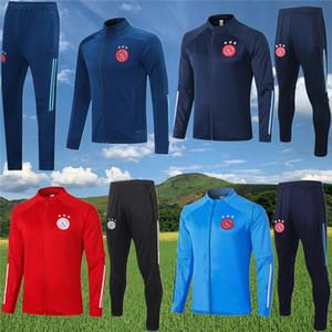 2020 2021 Ajax adultos e crianças terno camisas de futebol Treinando paletós Treino 20 21 cooper-aquecimento paletó de futebol survêtement