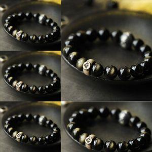 fCa New Mixed style Charm Bracelet wrap Jewelry with Diy Silver Bracelets For Women Vintga Bracelet Purple Crystal Beads stone fashion