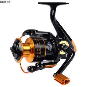 12BB Carp Fishing Reel Coil Wheel Spinning Fishing Reel 5.2:1REB1000-REB7000 High Speed Pesca1