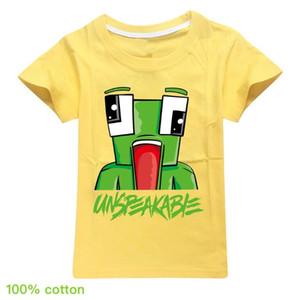 Unspeakable Kinder kurze Hülsehoodies Boy / Girl Tops Teen Kids Unspeakable Sweatshirt Kleidung T-Shirt mit 12 Farben