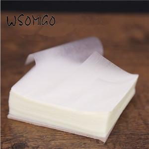 400Sheets الجديدة / صندوق نوكا الخاصة أكل ورق الأرز الحلوى ورقة صالحة للأكل ورقة الدبق حفل زفاف DIY كاندي الديكور ورقة-S Y201020