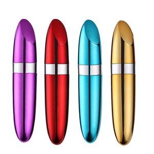 Lippenstift Sexspielzeuge Frau Gewehrkugel-Zerhacker-Nippel-Anreger-Dildo Mini Vibratoren für weibliche Masturbation