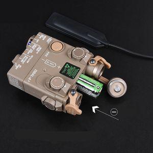 DBAL-A2 PEQ15 높은 전력 녹색 레이저 IR 레이저 포인터 전술 손전등 조명
