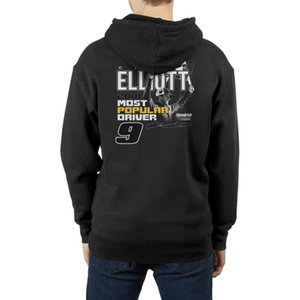 Chase Elliott 2018 Most Popular Driver NASCAR 9 Fashionable mens Fleece hooded sweater printing friends cute Long sleeve Hoodie 2019 USA