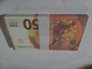 Деньги 08 rop € Поддельные деньги Банкноты Банкноты Курс Оптовая цена 50 евро Золотые оптовые оптовые куски ЕВРО Золотые счета Бумага M Ilubq