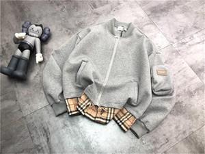 20fw new arrival mens womens designer jacket bomber zipper coat burb streetwear winter clothes top quality
