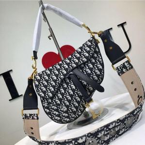 Avec encadré 2020 nouveau sac désintinérance Produits haut de gamme Sac de selle Sac Simple Généreux En cuir véritable sac de marque haute qualité mode luxe 060355