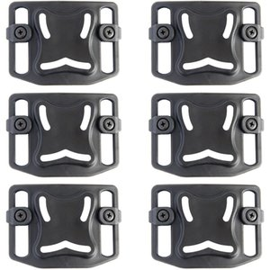 6PCS Tactical Belt Loop Platform Paddle for Gun Holster DIY Accessory