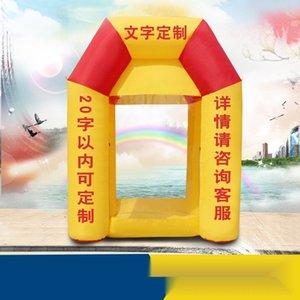 Luftmodell Eröffnung Werbeaktivitäten Spaß Geld Grabbing Maschine aufblasbare Luft Modell Öffnung Werbeaktivitäten Spaß Aufblasbarer mone