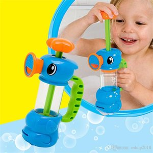 New Baby Toys Hippocampus Design Water Pump Faucet Seahorse Water Spray Bath Water Toys Sea Horse Baby Shower Bathing Toy