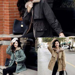 ZCCG New Woolen Designer ZeeShant Mode Lange Herren Woolen Mantel Mantel Männer Herbst Winter Graben Baumwolle Mantel Damen Trenchcoat Plus