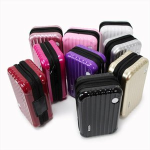 Cosmetic Bags Luggage Design Travel Cosmetic Bags Makeup Organizer Case Brushes Lipstick Toiletry Storage Box HSJ88