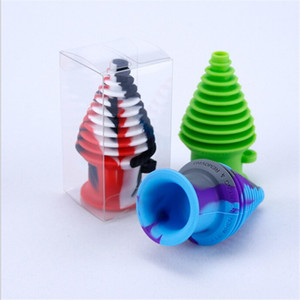Silicone Mouthpiece for silicon glass bongs Dab Straw Oil Rigs Silicone Smoking Pipe glass pipe smoking accessories dab rigs quartz banger