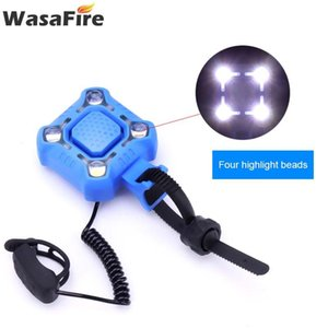 WasaFire 350lm 4*XPE LED Bike Light Car Headlights 140dB Horn USB Rechargeable Bicycle Headlamps with Bell Riding Accessories