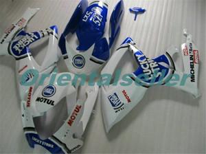 Body For SUZUKI GSX R600 GSX-R750 GSXR-600 GSXR600 06-07 GSX R750 GSXR 600 750 K6 GSXR750 2006 2007 Fairing kit New Factory blue white AD112
