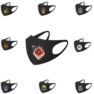 Designer Gesicht Luxus Modernes Harry Potter-Peripherie-Masken Hufflepuff Slytherin-Staub- und Trübungs-Druckmaske