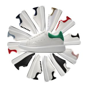 2020 mens terciopelo negro para mujer de colores sólidos Chaussures plana Hermosa ocasionales de la plataforma zapatillas de deporte zapatos de diseñadores de zapatos de cuero del vestido de lujo