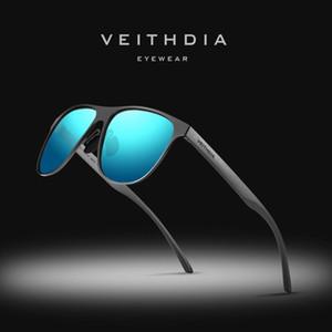 VEITHDIA Brand Designer Unisex Stainless Steel TR90 Men Sunglasses Polarized UV400 Lens Sun Glasses For Women gafas de sol 3920