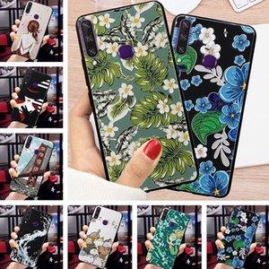 Para TECNO faísca 4 Caso Relief 3D Emboss Flor Phone Case para TECNO Camon 12 Pro Casos Camon12 Air cobertura para TECNO Spark4 capa