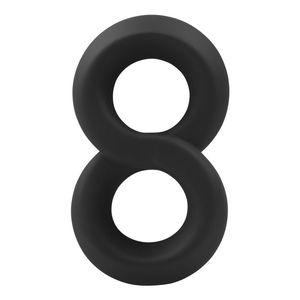 Yunman Şile 8-ring Çift Döngü Kilidi Penis Yüzük Erkek Oyuncaklar Yetişkin Seks Ürünleri