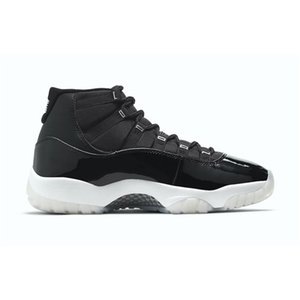 Nike Air Jordan 11  11 11S Jubilee Black / Clear-White-Metallic Silver CT8012-011 25th Anniversary Баскетбольная обувь