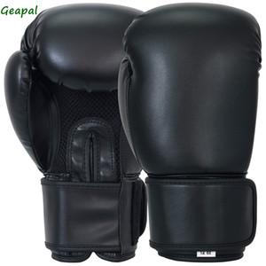 قفازات الملاكمة Geapal الجلود الاصطناعية حقيبة اللكم قفازات الصفحة الرئيسية رياضة الكيك بوكسينغ التدريب والعتاد البقاء باردة شبكة بالم الملاكمة قفازات